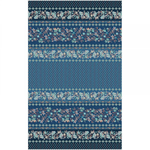Sofabezug Möbel Bassetti Granfoulard FABRIANO B1 3 Größen Blau