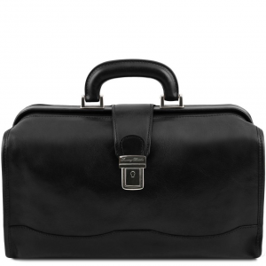 Tuscany Leather TL141852 Raffaello - Borsa medico in pelle Nero