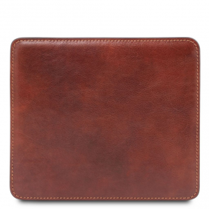 Tuscany Leather TL141891 Tappetino per mouse in pelle Marrone