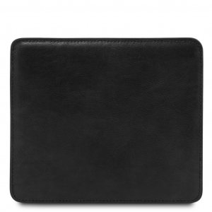 Tuscany Leather TL141891 Tappetino per mouse in pelle Nero