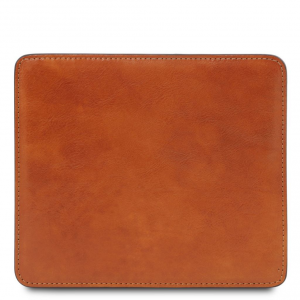 Tuscany Leather TL141891 Tappetino per mouse in pelle Miele