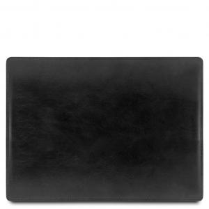 Tuscany Leather TL141892 Sottomano da scrivania in pelle Nero