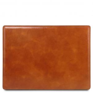 Tuscany Leather TL141892 Sottomano da scrivania in pelle Miele