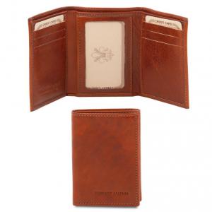 Tuscany Leather TL140801 Esclusivo portafoglio in pelle Marrone