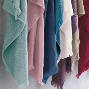Coppia di asciugamani set 1+1 asciugamano e ospite FAZZINI DAFNE spugna