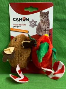 Topini natalizi per gatti