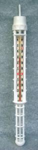 Termometro con gabbia