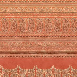 Sofa cover Furniture Bassetti Granfoulard BRUNELLESCHI O1 3 sizes orange