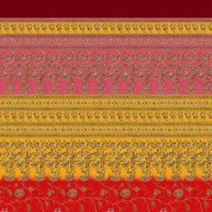 Sofabezug Möbel Bassetti Granfoulard MONTEFANO R1 3 Größen Rot