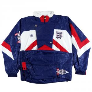 1990-92 Inghilterra Tuta Completa M *Nuova