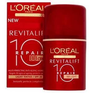 L`Oreal Dermo Expertise Revitalift Total Repair 10 BB Cream Light TO FAIR 50 ml