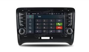 ANDROID 9.0 autoradio 2 DIN navigatore per Audi TT 2006-2012 GPS DVD WI-FI Bluetooth MirrorLink