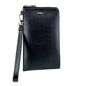 Mobile holder Furla BABYLON 978613 ONYX
