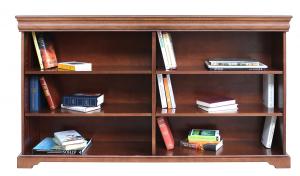Libreria larga stile Luigi Filippo