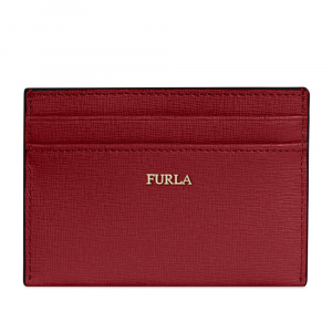 Credits card holder Furla BABYLON 1025437 CILIEGIA d