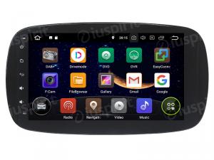 ANDROID 10 autoradio navigatore per Smart Fortwo W453, Smart ForFour 2014 - 2019 GPS WI-FI Bluetooth MirrorLink