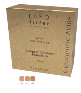 LABO FILLER MAKE-UP - FONDOTINTA COMPATTO CORRETTORE