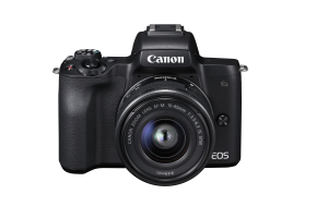 FOTOCAMERA MIRRORLESS 24MPX 4K BLACK EOS M50+15-45MM