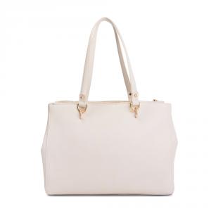 Shopping bag L Satchel con catena gioiello - LIU JO