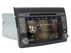 ANDROID 10 autoradio 2 DIN navigatore per Fiat Bravo 2007 - 2014 GPS DVD WI-FI Bluetooth MirrorLink
