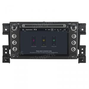 ANDROID 9.0 autoradio 2 DIN navigatore per Suzuki Grand Vitara 2006 - 2012 GPS DVD WI-FI Bluetooth MirrorLink