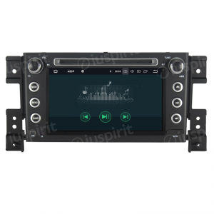 ANDROID 10 autoradio 2 DIN navigatore per Suzuki Grand Vitara 2006 - 2012 GPS DVD WI-FI Bluetooth MirrorLink