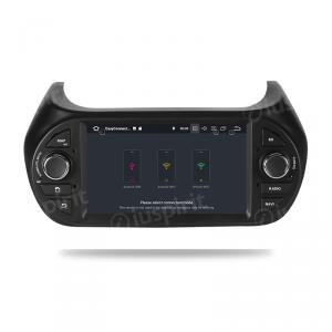 ANDROID 10 autoradio navigatore per Fiat Fiorino, Fiat Qubo, Citroen Nemo, Peugeot Bipper 2008-2015 GPS DVD WI-FI Bluetooth MirrorLink