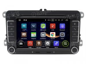 ANDROID 10 autoradio 2 DIN navigatore per VW Golf 5 Golf 6 Passat Tiguan Jetta Polo Touran Caddy Scirocco GPS DVD WI-FI Bluetooth MirrorLink