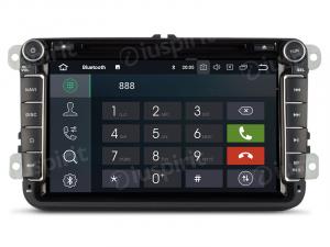 ANDROID 9.0 autoradio 2 DIN navigatore per VW Golf 6, Golf 5, Passat, Tiguan, Jetta, Polo, Touran, Caddy, Scirocco GPS DVD WI-FI Bluetooth MirrorLink