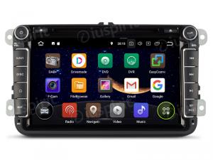 ANDROID 10 autoradio 2 DIN navigatore per VW Golf 6, Golf 5, Passat, Tiguan, Jetta, Polo, Touran, Caddy, Scirocco GPS DVD WI-FI Bluetooth MirrorLink