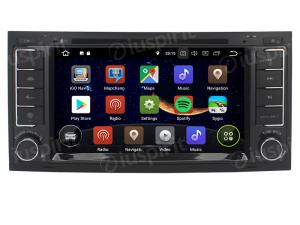 ANDROID 10 autoradio 2 DIN navigatore per Volkswagen Touareg, Trasporter T5 Multivan GPS DVD WI-FI Bluetooth MirrorLink