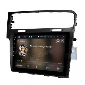 ANDROID 10 autoradio navigatore per Volkswagen Golf 7 2013-2019 GPS WI-FI Bluetooth MirrorLink