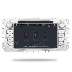 ANDROID 10 autoradio 2 DIN navigatore per Ford Mondeo Ford Focus Ford S-Max Ford C-Max Ford Galaxy GPS DVD WI-FI Bluetooth MirrorLink