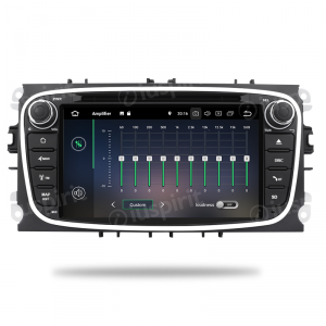 ANDROID 10 autoradio 2 DIN navigatore per Ford Focus Ford Mondeo Ford S-Max Ford C-Max Ford Galaxy GPS DVD WI-FI Bluetooth MirrorLink