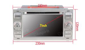 ANDROID 9.0 autoradio 2 DIN navigatore per Ford Focus/Mondeo/S-Max/C-Max/Galaxy/Transit/Fiesta/Fusion/Kuga GPS DVD WI-FI Bluetooth MirrorLink