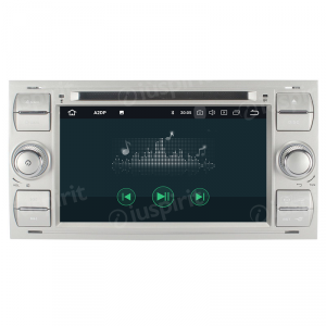 ANDROID 10 autoradio 2 DIN navigatore per Ford Focus Mondeo S-Max C-Max Galaxy Transit Fiesta Fusion Kuga GPS DVD WI-FI Bluetooth MirrorLink
