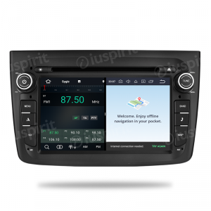ANDROID 9.0 autoradio navigatore per Alfa Romeo Mito 2015-2018 GPS DVD WI-FI Bluetooth MirrorLink