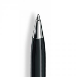 Penna a Sfera Ipsilon Silver Nera
