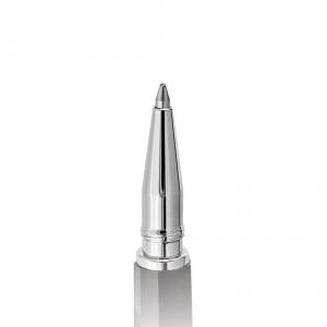 Penna a Sfera Moka Chiaroscuro Bianco