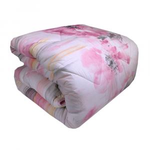 Trapunta invernale matrimoniale HAPPIDEA Premium Pivoine rosa