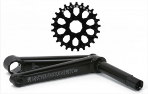 Odyssey Thunderbolt Socket Drive Cranks | Colore Black