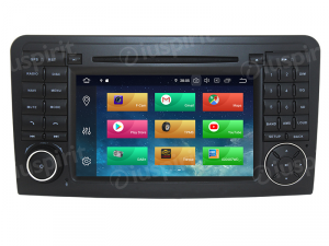 ANDROID 9.0 GPS DVD WI-FI Bluetooth Mirror-Link autoradio 2 DIN navigatore compatibile con Mercedes classe R W251/R280/R300/R320/R350/R500/R63/AMG 2006-2012