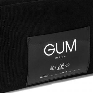 Pochette Canvas Medium Nera - GUM Design