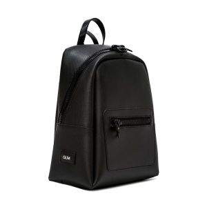 Zaino Sporting Large Zip Nera - GUM Design