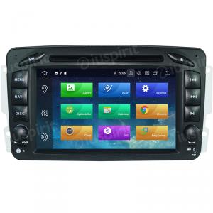 ANDROID 10 autoradio 2 DIN navigatore per Mercedes classe C W203, classe CLK W209, classe A W168, classe G W463, classe E W210, Vito/Viano GPS DVD WI-FI Bluetooth MirrorLink