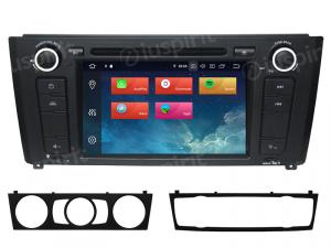 ANDROID 9.0 autoradio navigatore per BMW serie 1, BMW E81, BMW E82, BMW E88 GPS DVD WI-FI Bluetooth MirrorLink