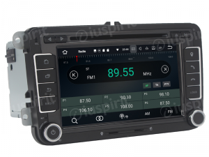ANDROID 10 autoradio 2 DIN navigatore per VW Golf 5, Golf 6, Passat, Tiguan, Jetta, Polo, Touran, Caddy, Scirocco GPS DVD WI-FI Bluetooth MirrorLink