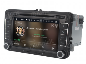 ANDROID 10 autoradio 2 DIN navigatore per VW Golf 5, Golf 6, Passat, Tiguan, Jetta, Polo, Touran, Caddy, Scirocco GPS DVD WI-FI Bluetooth MirrorLink