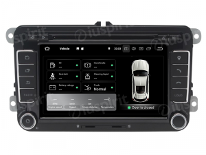 ANDROID 9.0 autoradio 2 DIN navigatore per VW Golf 5, Golf 6, Passat, Tiguan, Jetta, Polo, Touran, Caddy, Scirocco GPS DVD WI-FI Bluetooth MirrorLink