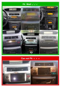 ANDROID 9.0 autoradio navigatore per Citroen C4 2004-2012 GPS DVD WI-FI Bluetooth MirrorLink